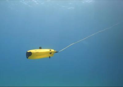O podvodnom robotu/dronu